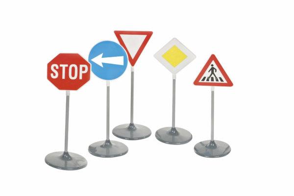 Dopravní značky - sada A (5 ks)