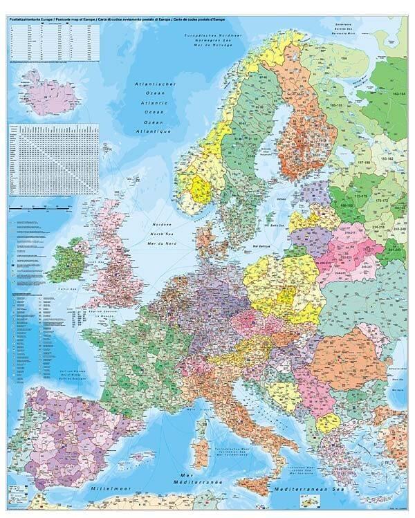 PSČ Evropa, 100 x140 cm